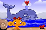 Monkey Go Happpy Hearts