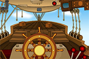 Steampunk Ship Escape