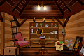 Wooden Attic Escape