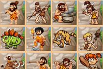 Caveman Board Puzzle