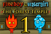 Fireboy and Watergirl - The Forest Temple
