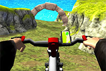 Real Mountainbike Downhill 3D